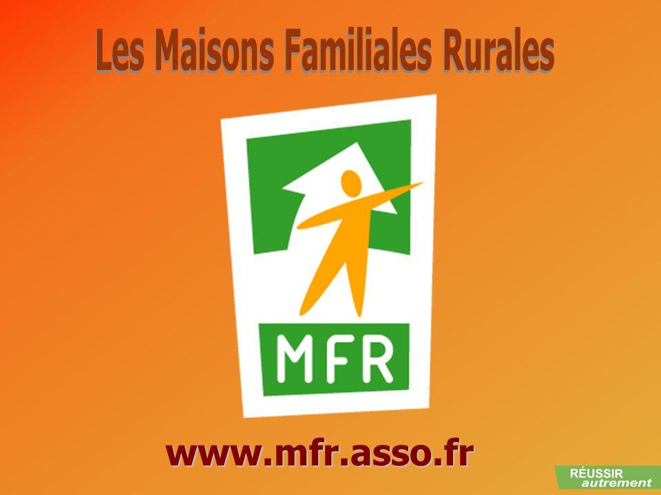 Les Maisons Familiales Rurales