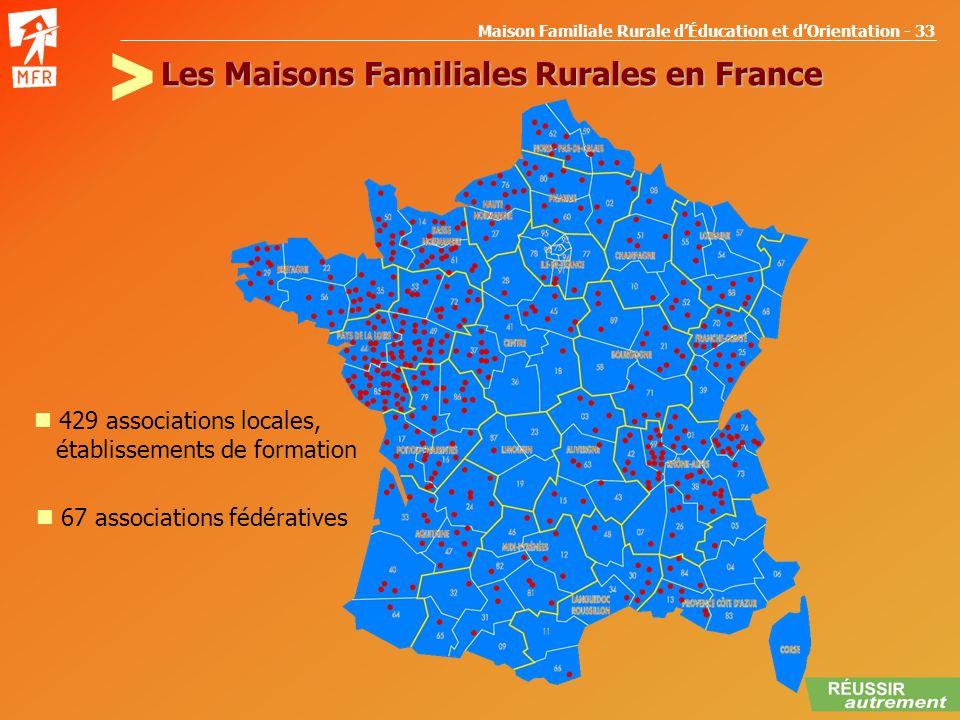 Les Maisons Familiales Rurales en France