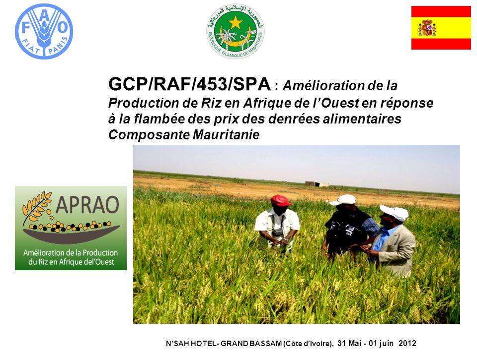 N'SAH HOTEL- GRAND BASSAM (Côte d'Ivoire), 31 Mai - 01 juin 2012