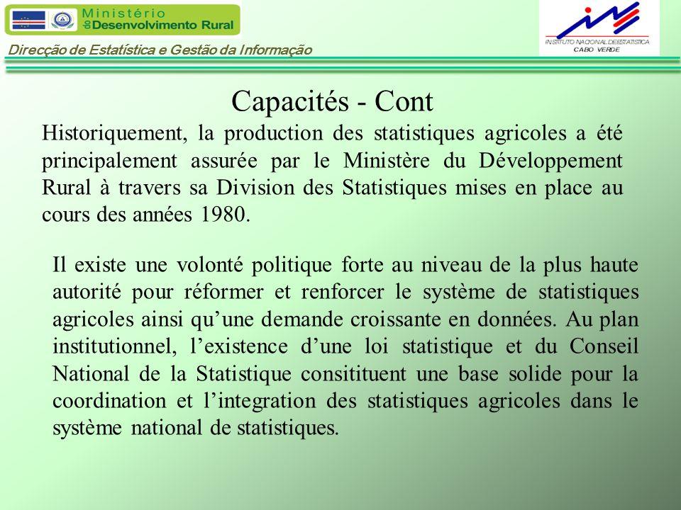Capacités - Cont