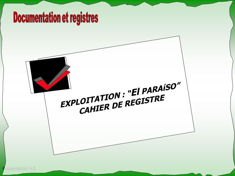 EXPLOITATION : El PARAíSO