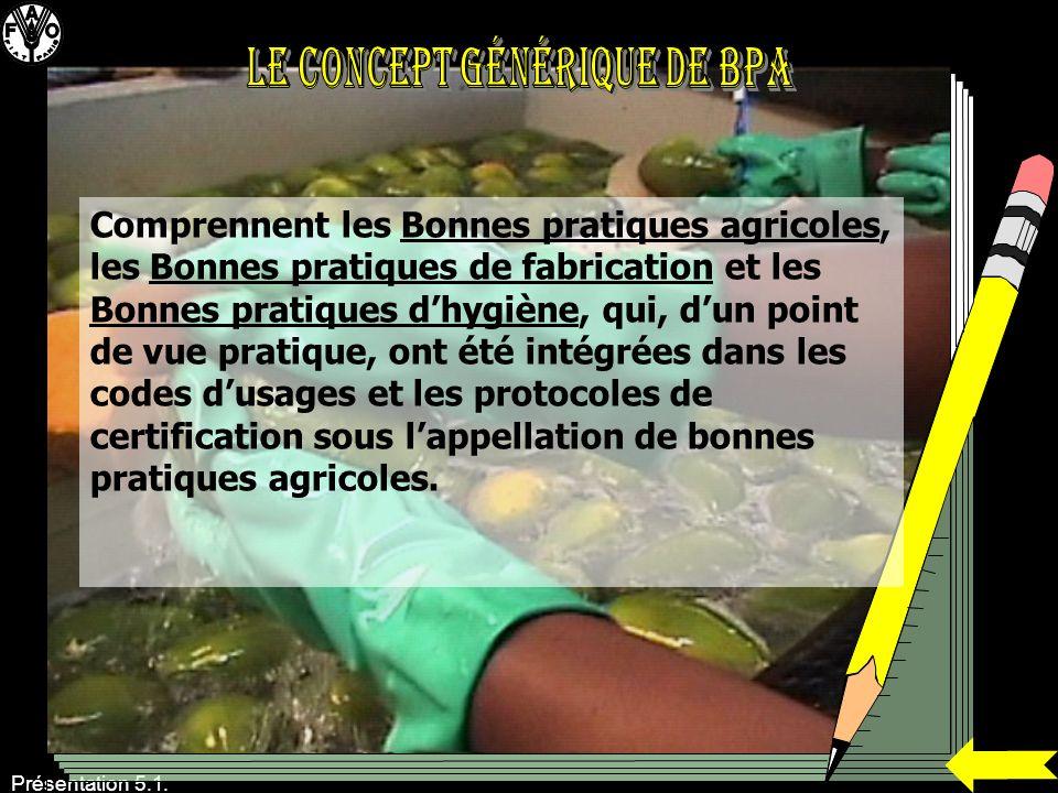Le concept générique de BPA