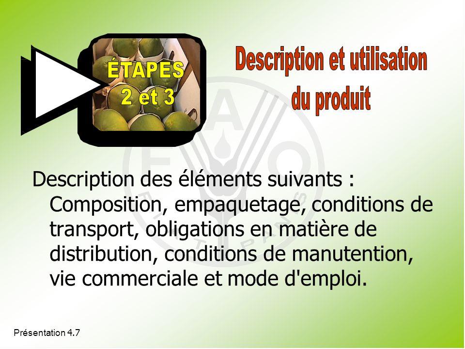 Description et utilisation