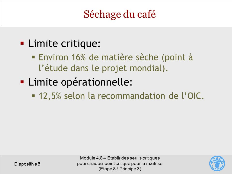Limite opérationnelle: