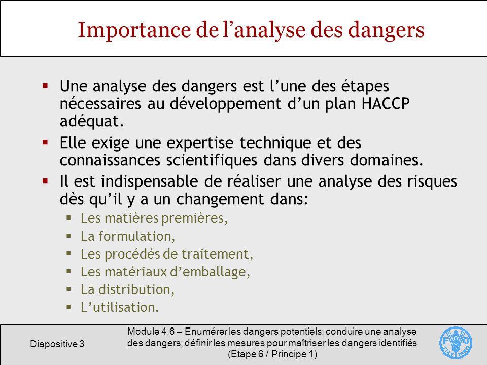 Importance de l'analyse des dangers