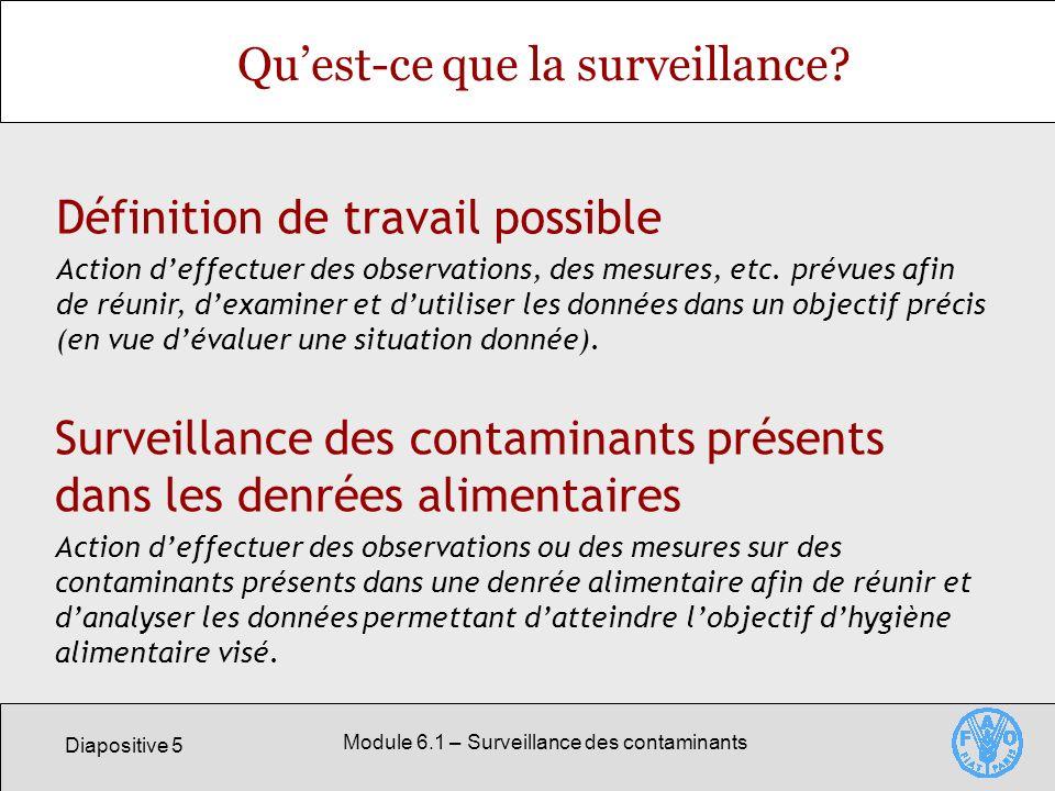 Qu'est-ce que la surveillance