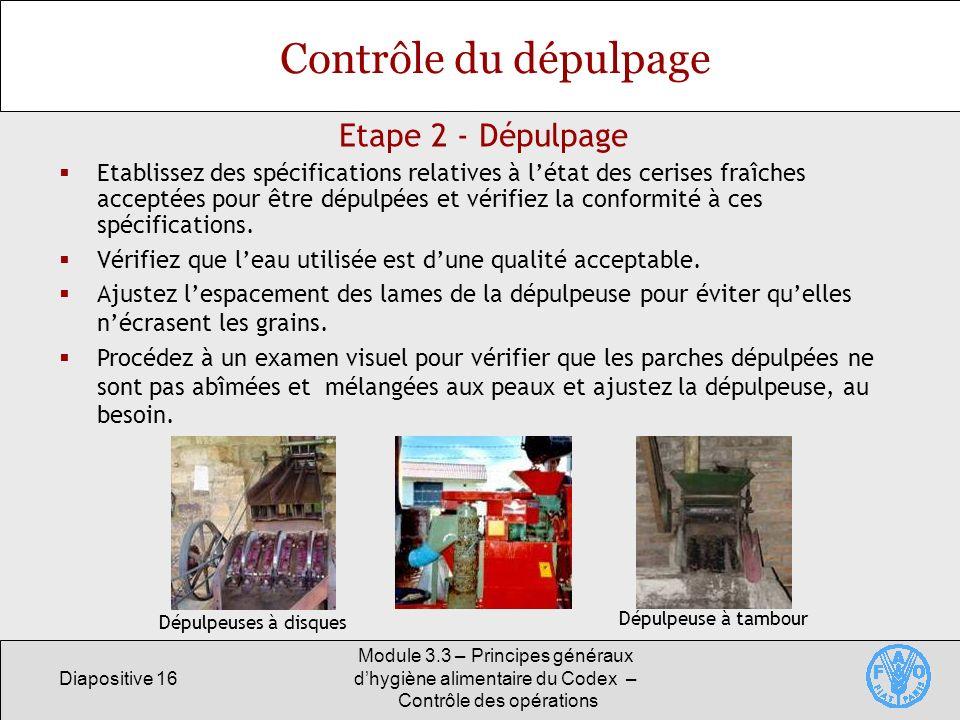 Contrôle du dépulpage Etape 2 - Dépulpage