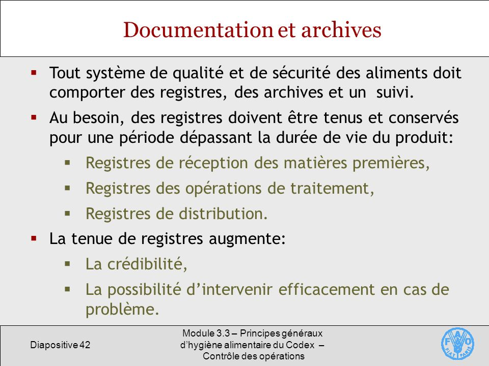 Documentation et archives