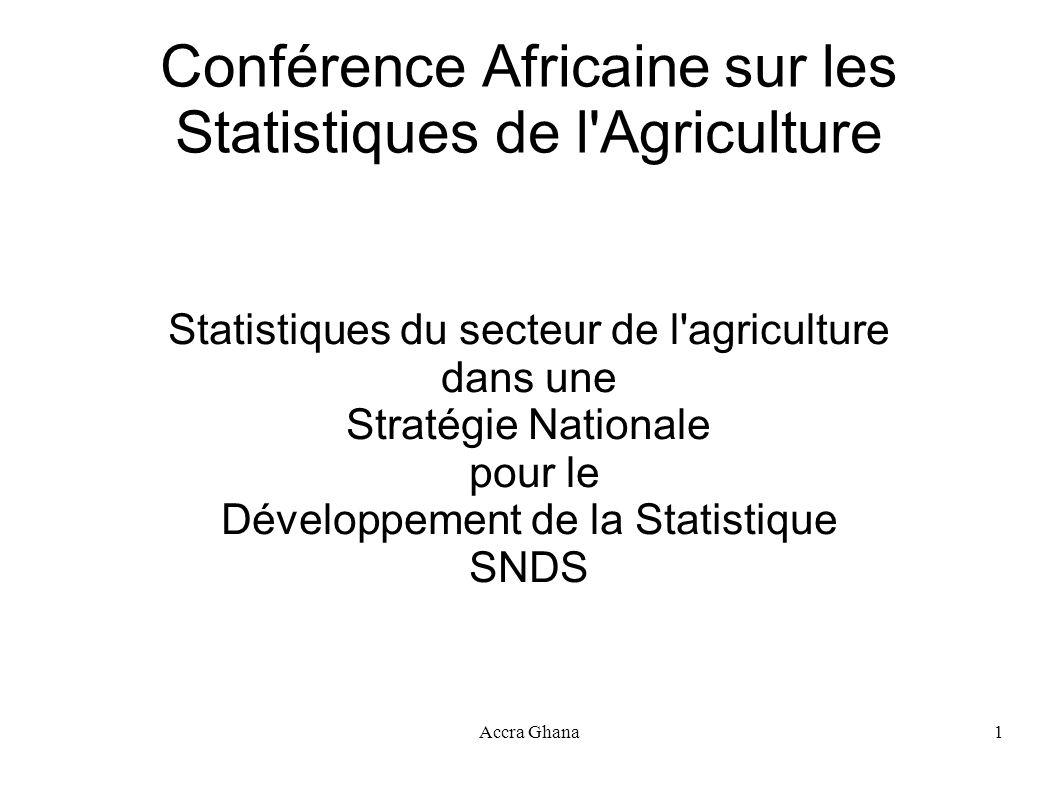 Conférence Africaine sur les Statistiques de l Agriculture