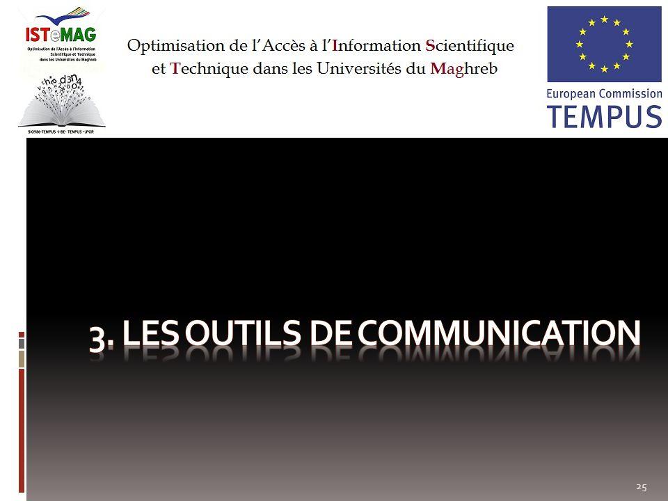 3. Les outils de communication