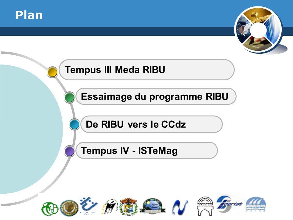 Plan Tempus III Meda RIBU Essaimage du programme RIBU