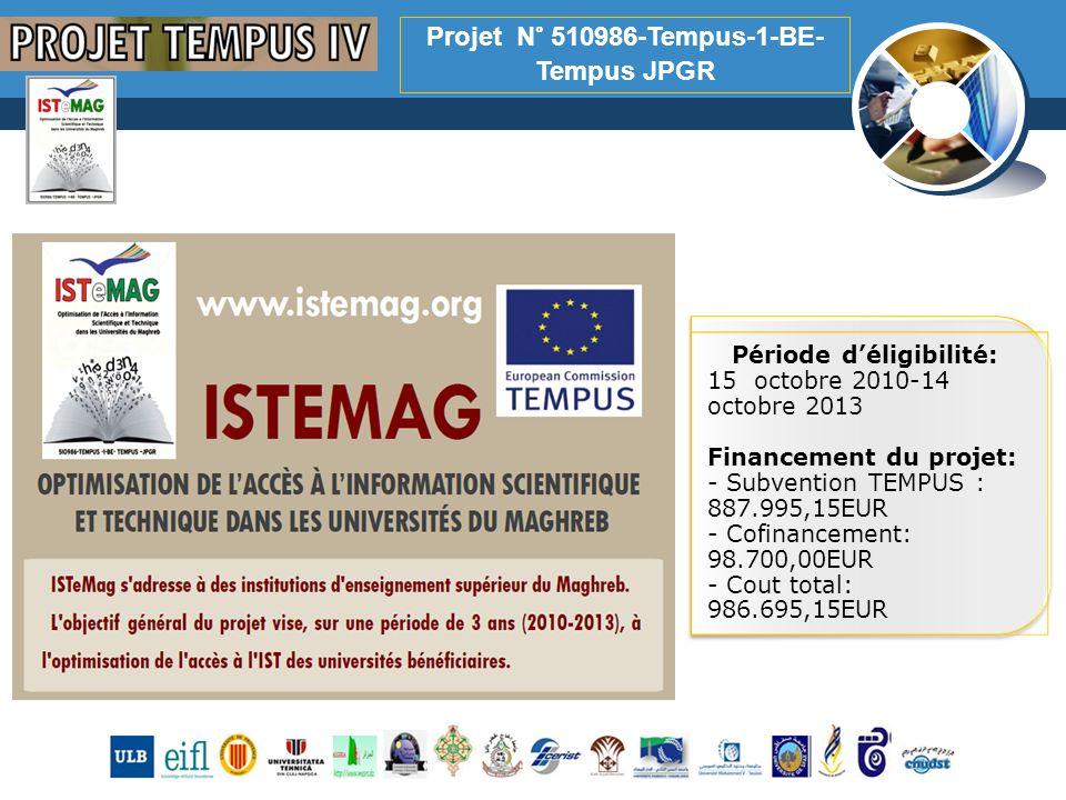Projet N° 510986-Tempus-1-BE-Tempus JPGR