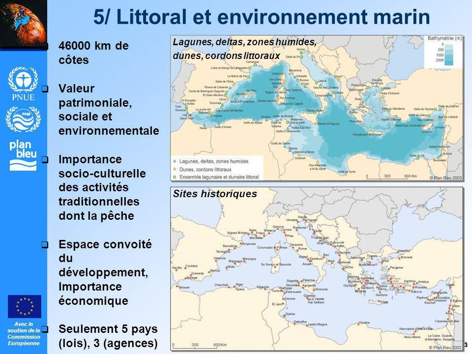 5/ Littoral et environnement marin