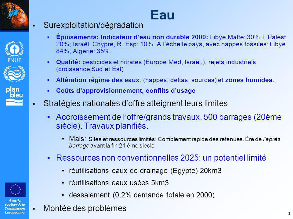 Eau Surexploitation/dégradation