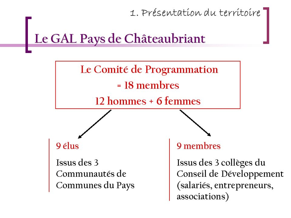 Le GAL Pays de Châteaubriant