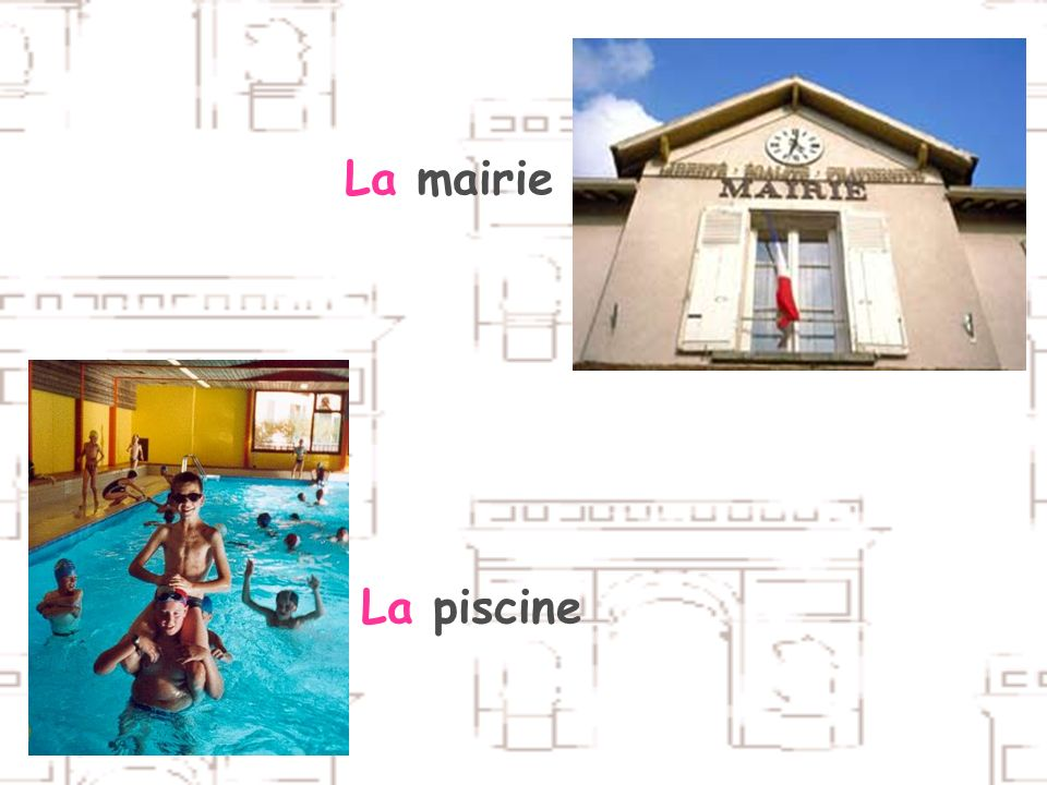 La mairie La piscine