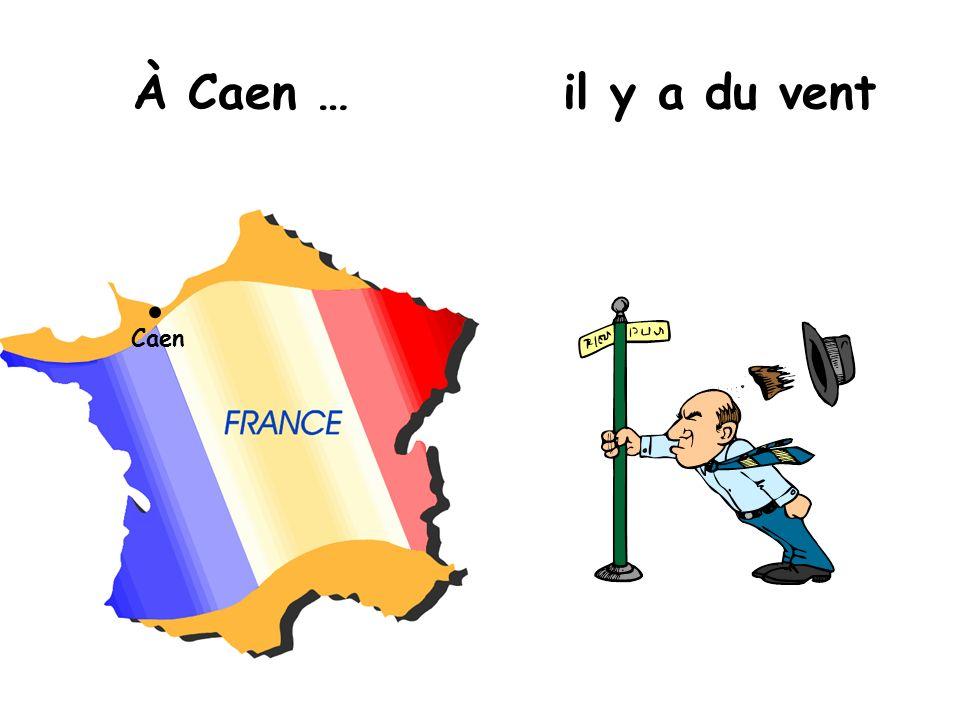 À Caen … il y a du vent Caen