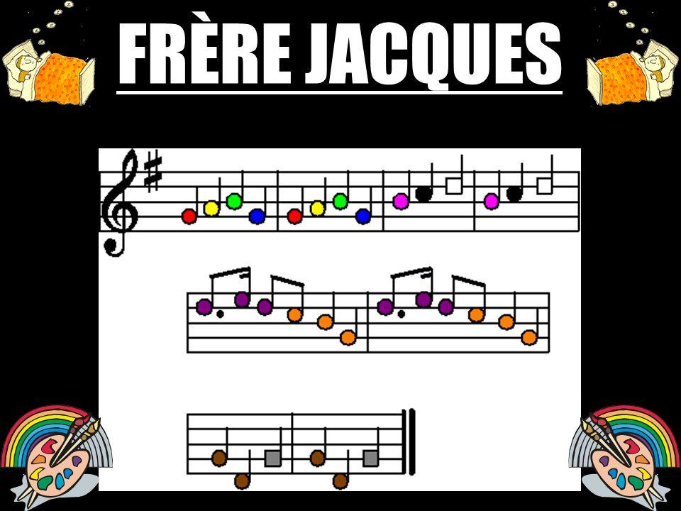 FRÈRE JACQUES COULEURS COULEURS
