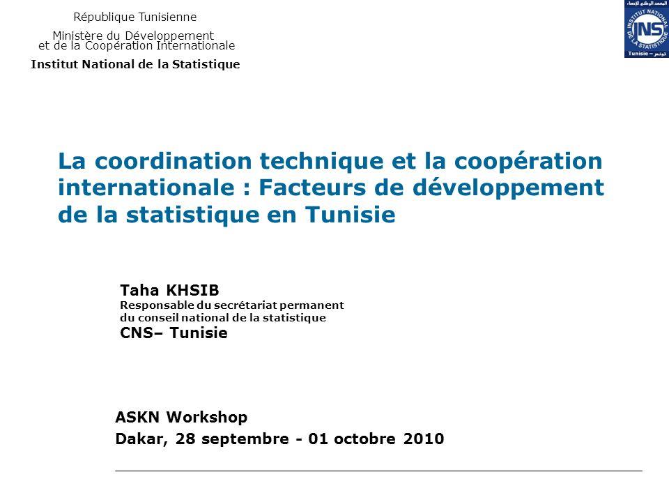 ASKN Workshop Dakar, 28 septembre - 01 octobre 2010