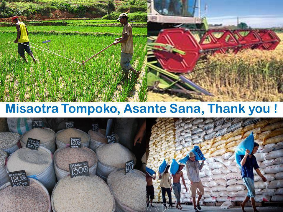 Misaotra Tompoko, Asante Sana, Thank you !