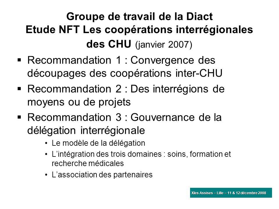 Recommandation 2 : Des interrégions de moyens ou de projets