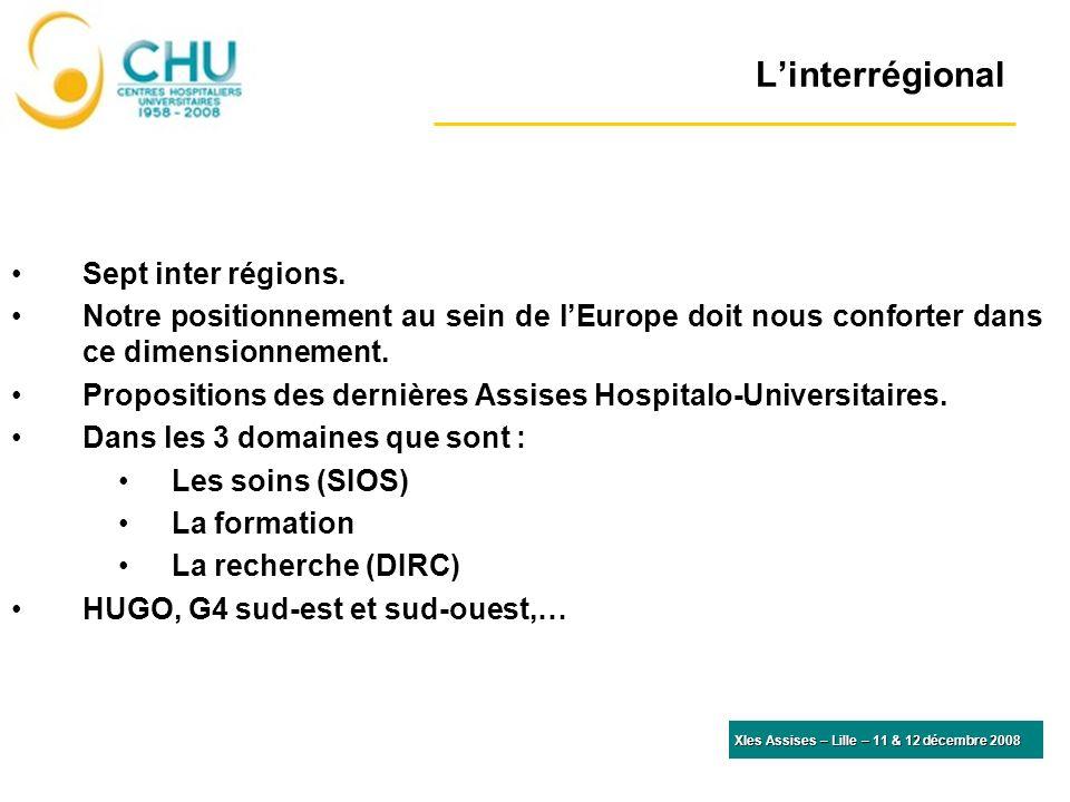 L'interrégional Sept inter régions.