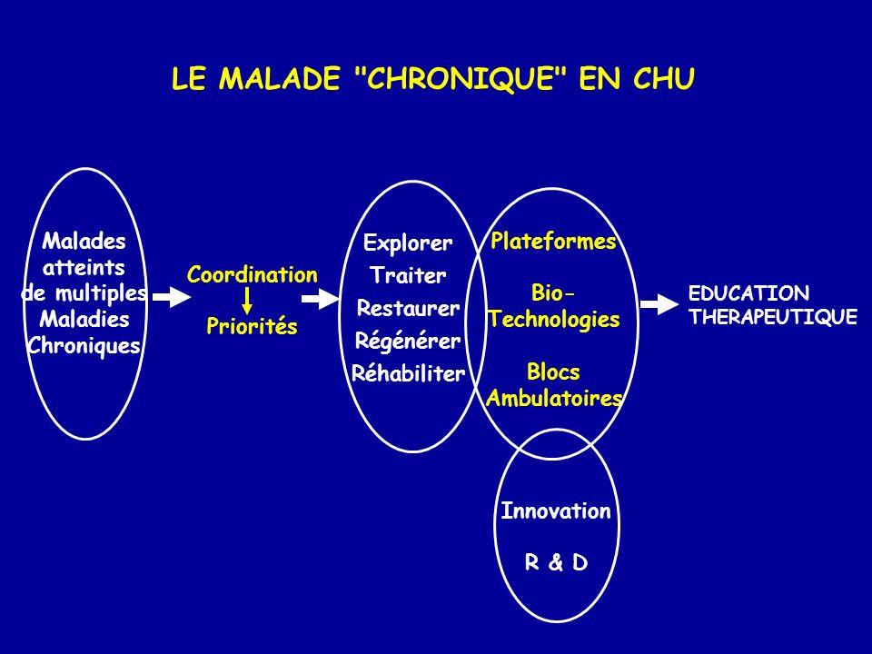 LE MALADE CHRONIQUE EN CHU