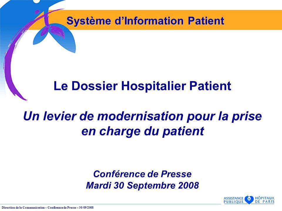 Le Dossier Hospitalier Patient