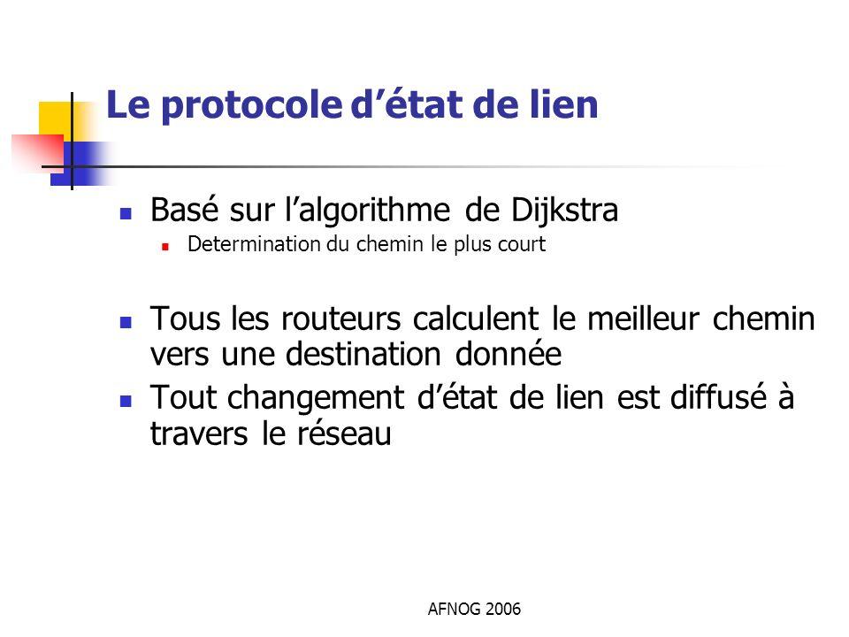 Le protocole d'état de lien