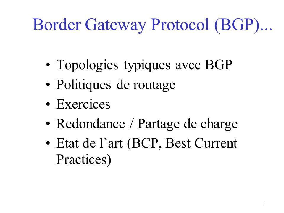 Border Gateway Protocol (BGP)...