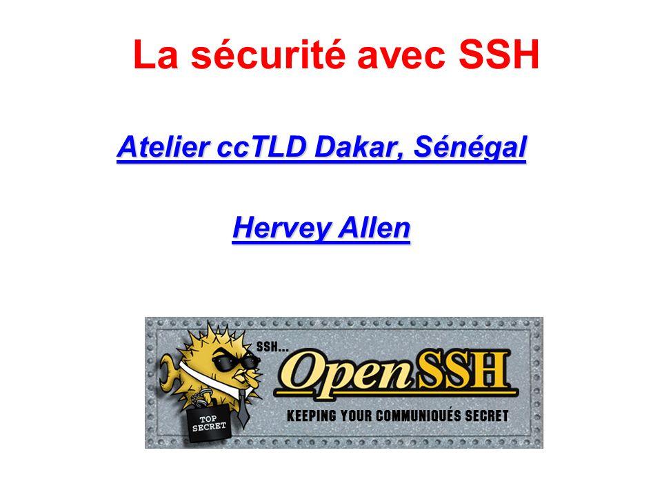 Atelier ccTLD Dakar, Sénégal Hervey Allen