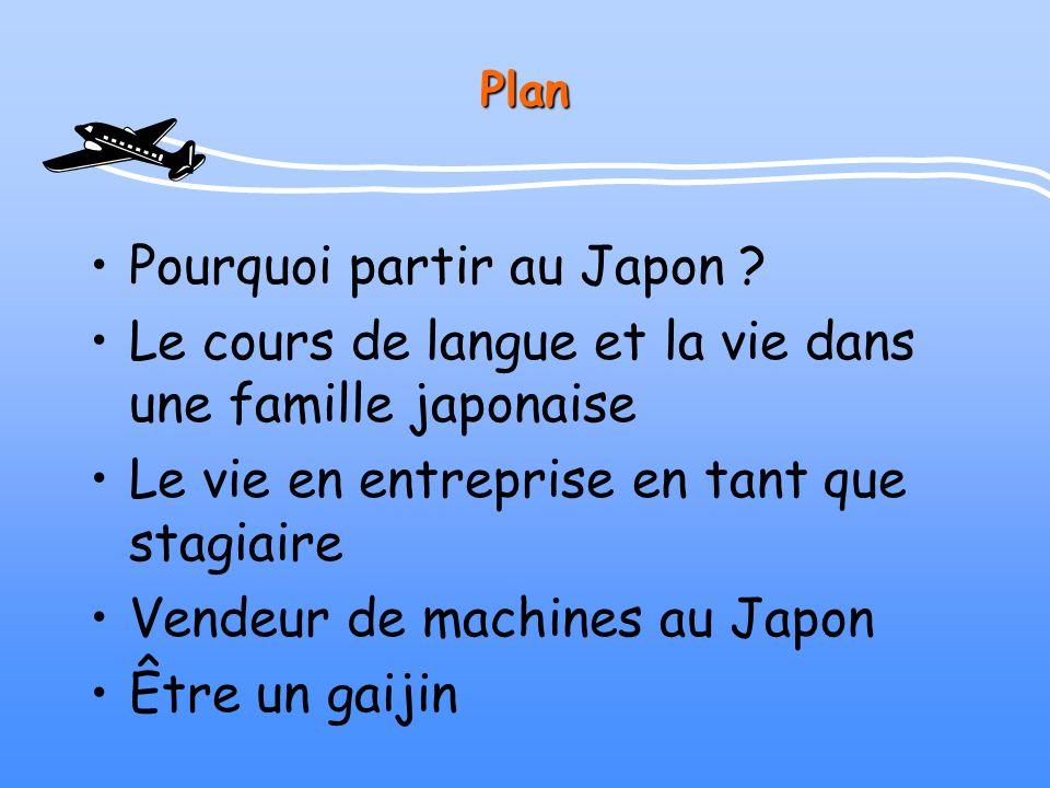Pourquoi partir au Japon