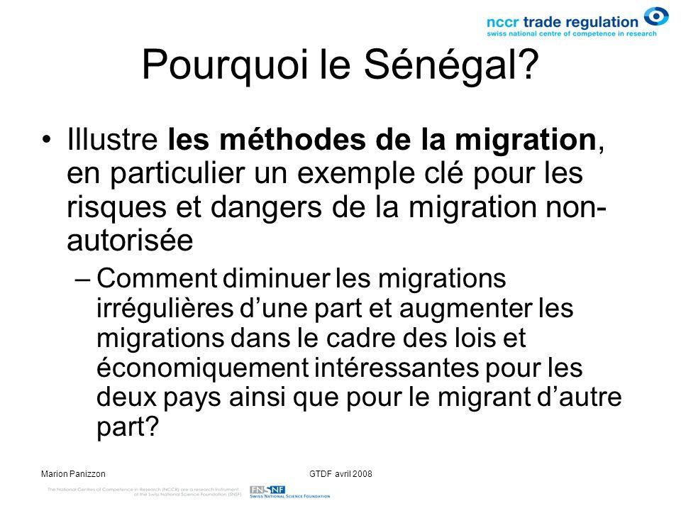 Pourquoi le Sénégal Illustre les méthodes de la migration, en particulier un exemple clé pour les risques et dangers de la migration non-autorisée.