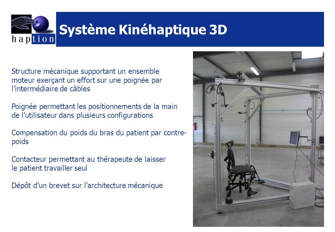 Système Kinéhaptique 3D