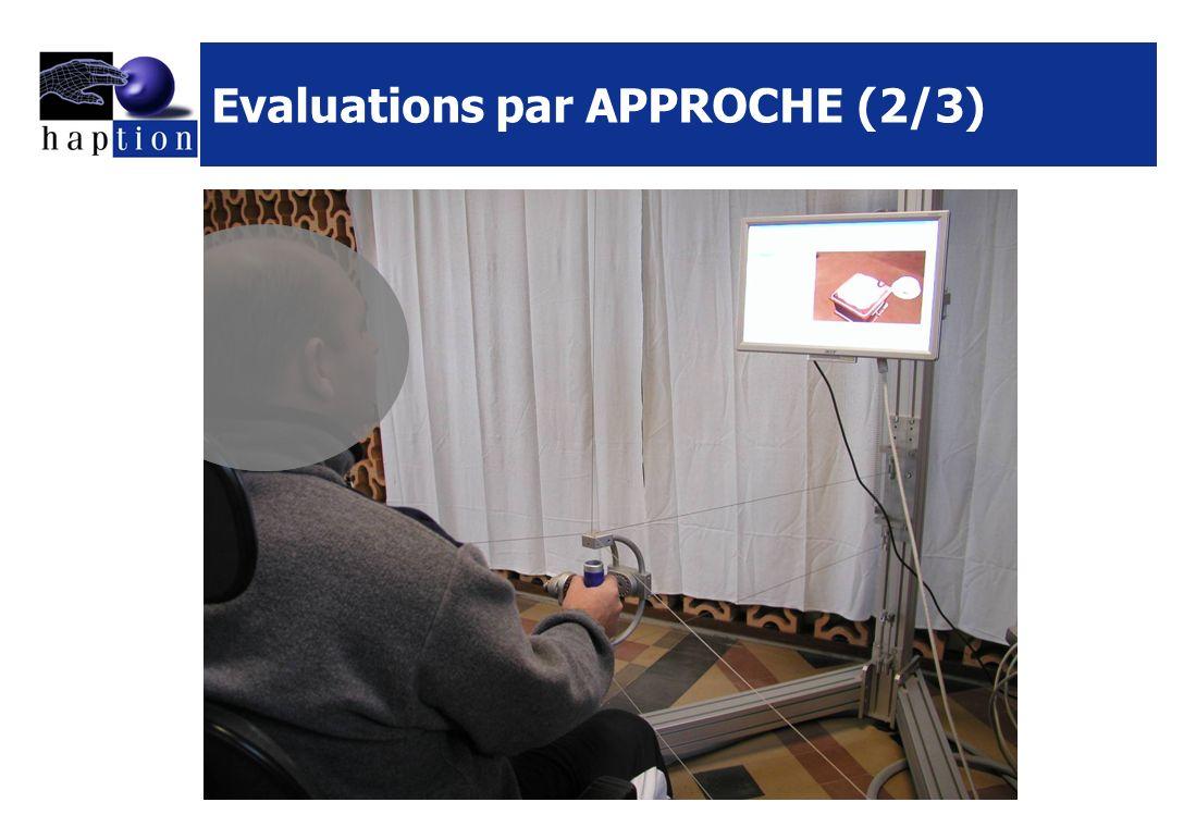Evaluations par APPROCHE (2/3)