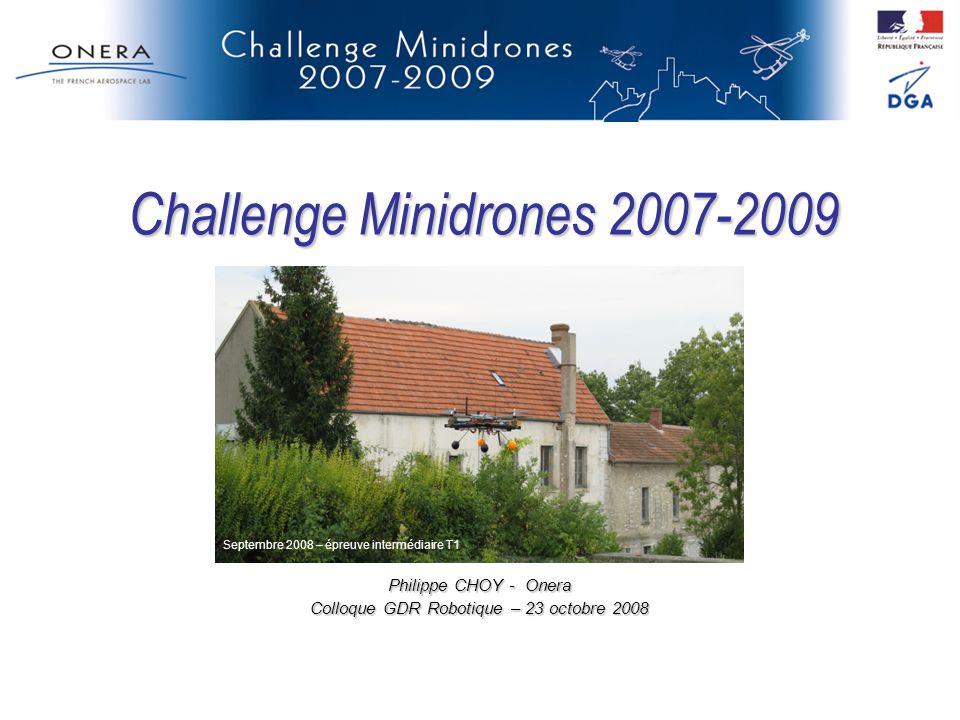 Challenge Minidrones 2007-2009