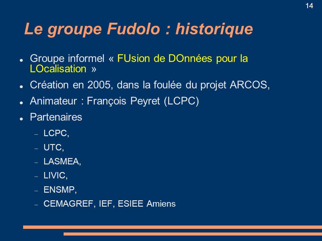 Le groupe Fudolo : historique