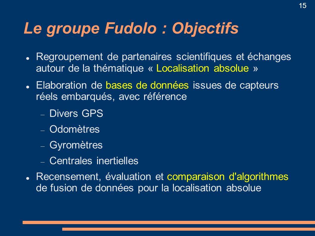 Le groupe Fudolo : Objectifs