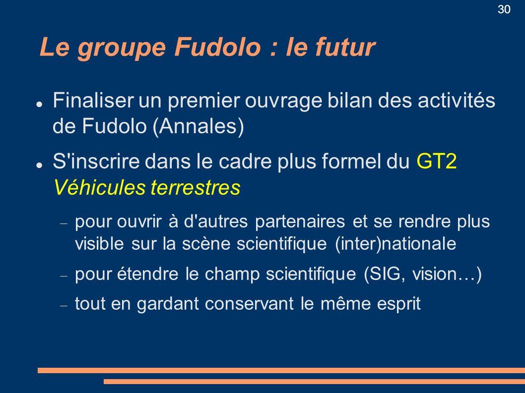 Le groupe Fudolo : le futur