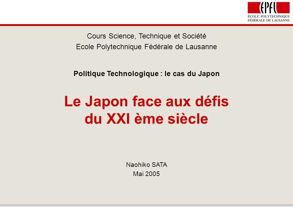 Le Japon face aux défis du XXI ème siècle