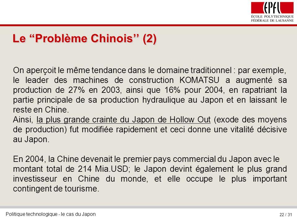 Le Problème Chinois'' (2)