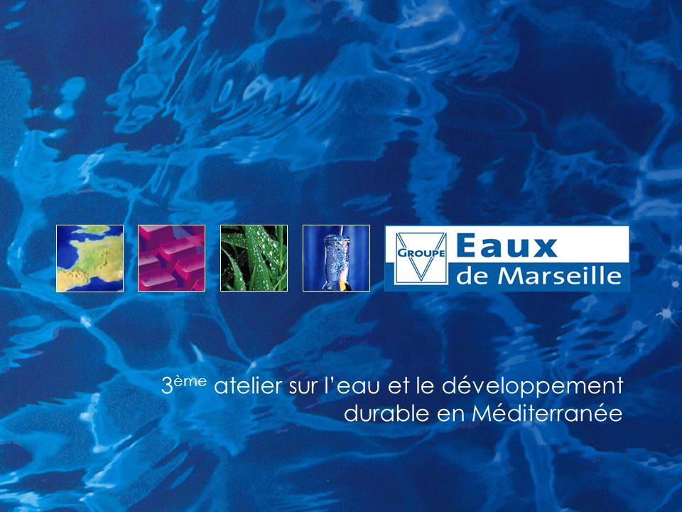 3ème atelier sur l'eau et le développement durable en Méditerranée