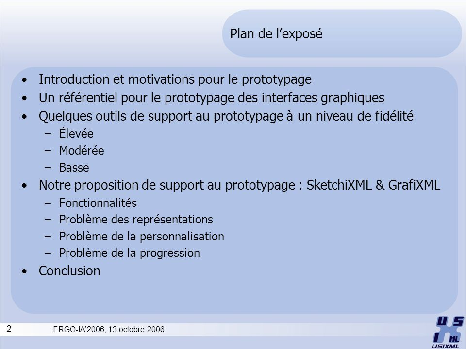 Introduction et motivations pour le prototypage