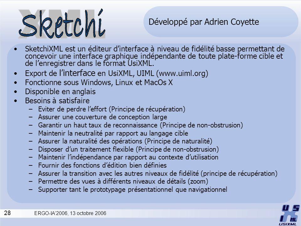 Développé par Adrien Coyette