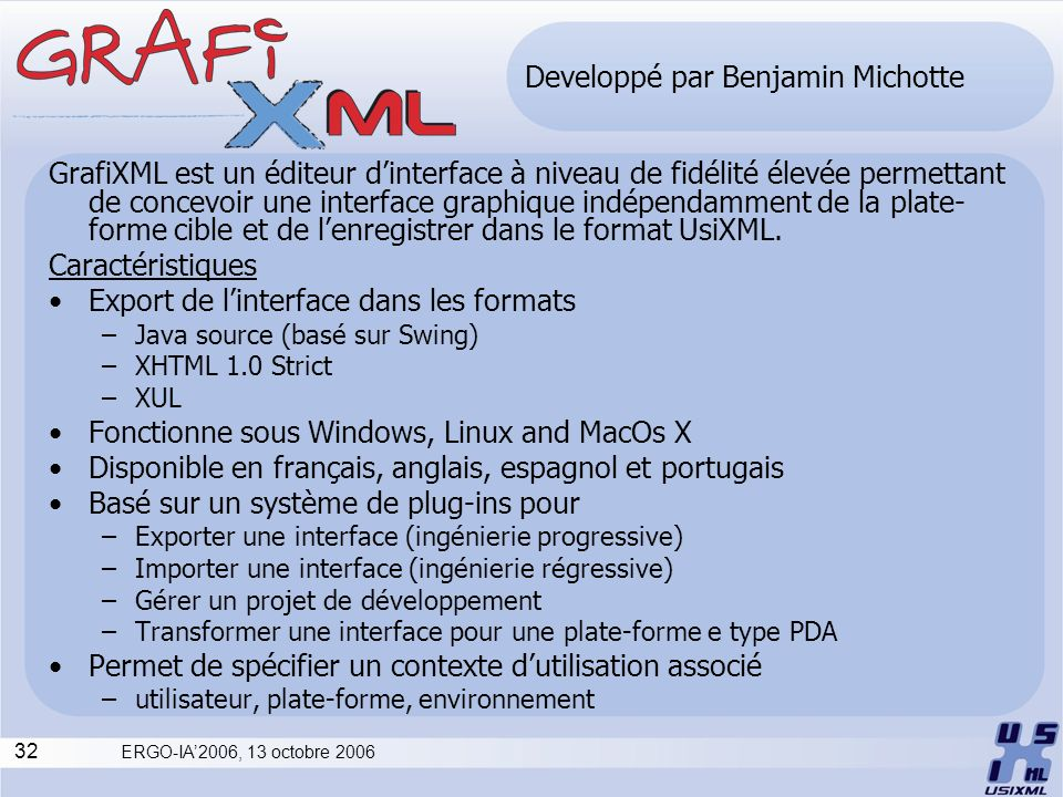 Developpé par Benjamin Michotte