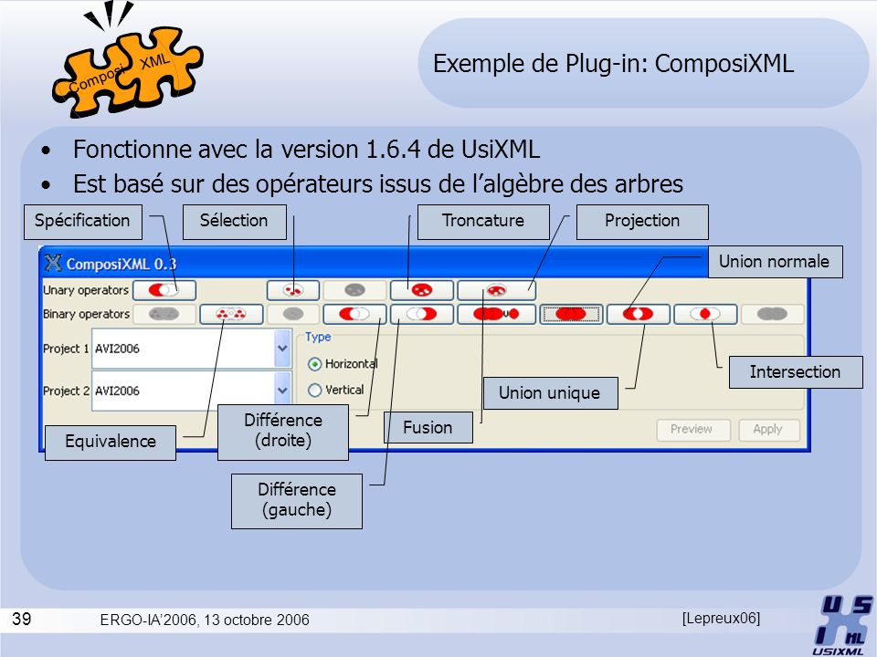 Exemple de Plug-in: ComposiXML
