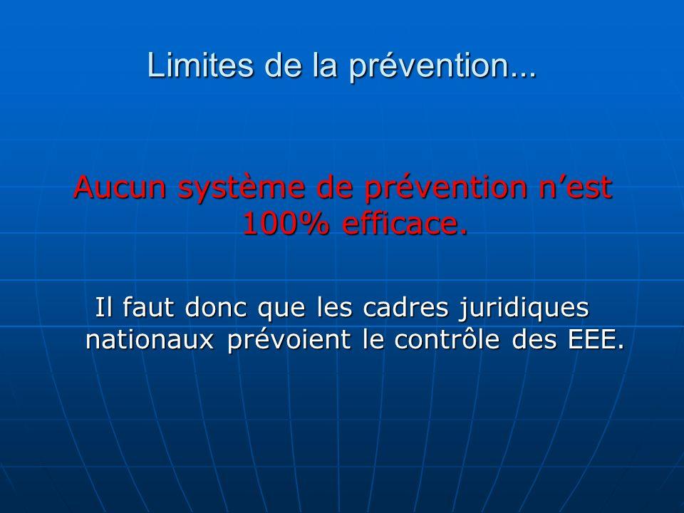 Limites de la prévention...