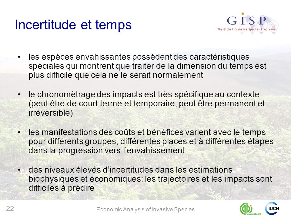 Incertitude et temps