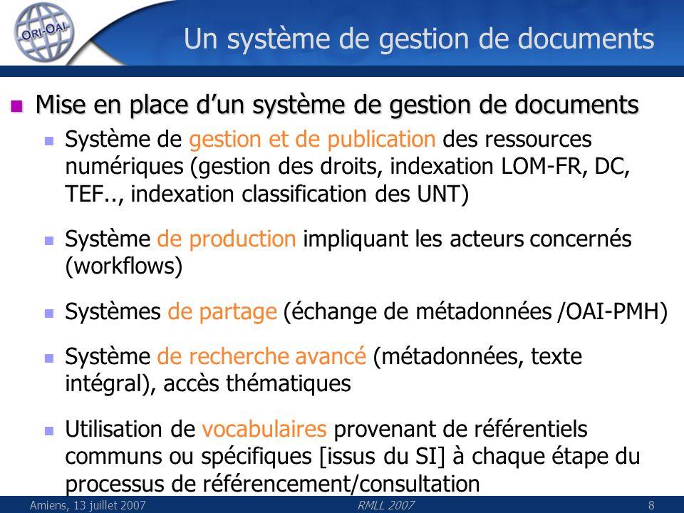Un système de gestion de documents