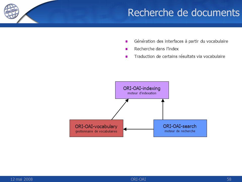 Recherche de documents